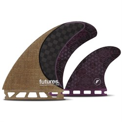 Futures Rasta Twin​+1 Fin Set