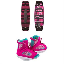 Ronix Limelight Camber Wakeboard ​+ Luxe Wakeboard Bindings - Women's