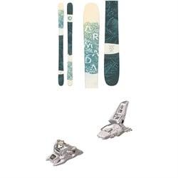 Armada ARW 86 Skis - Women's + Marker Squire 11 ID Ski Bindings 2020