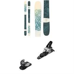 Armada ARW 86 Skis - Women's 2020 + Salomon Warden MNC 11 Ski Bindings 2020