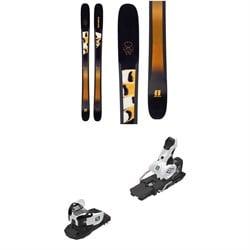 Armada Trace 108 Skis - Women's + Salomon Warden MNC 13 Ski Bindings