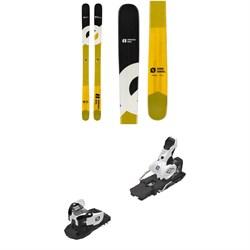 Armada Bdog Edgeless Skis + Salomon Warden MNC 13 Ski Bindings 2020