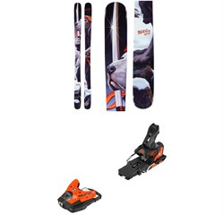 Armada BDog Skis ​+ Salomon STH2 WTR 13 Ski Bindings 2020
