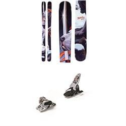 Armada BDog Skis + Marker Griffon 13 ID Ski Bindings 2020