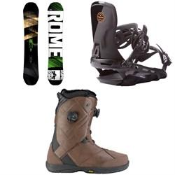 Rome Mod Snowboard 2018 + Targa Snowboard Bindings 2017 + K2 Maysis Snowboard Boots