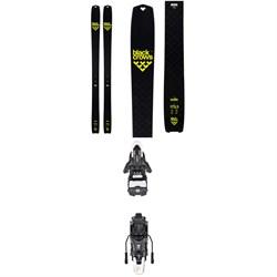Black Crows Solis Skis + Atomic Shift MNC 13 Alpine Touring Ski Bindings 2020