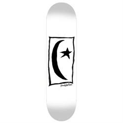 Foundation Star & Moon Square White 8.5 Skateboard Deck