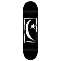Foundation Star & Moon Square Black 8.25 Skateboard Deck
