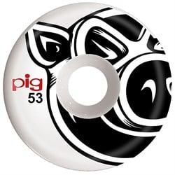 Pig Pig Head Conical White 101A Skateboard Wheels