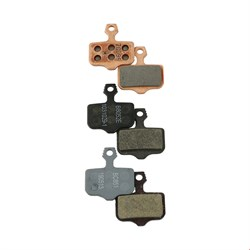SRAM Level TL, T, Level, Level TLM B1, Ultimate B1, Avid Elixir and DB Disc Brake Pads (Organic, Steel Back)