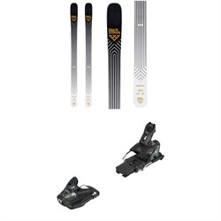 Black Crows Daemon Skis ​+ Salomon STH2 WTR 13 Ski Bindings 2020