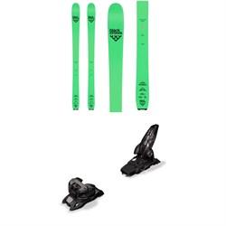 Black Crows Navis Freebird Skis + Marker Griffon 13 ID Ski Bindings 2020