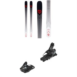 Black Crows Camox Skis + Salomon STH2 WTR 13 Ski Bindings 2020