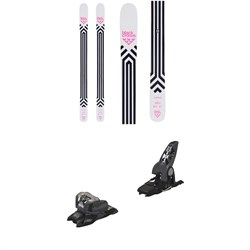 Black Crows Corvus Skis ​+ Marker Griffon 13 ID Ski Bindings