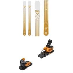 Black Crows Daemon Birdie Skis - Women's + Salomon Warden MNC 13 Ski Bindings 2020