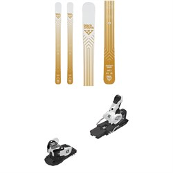 Black Crows Daemon Birdie Skis - Women's ​+ Salomon Warden MNC 13 Ski Bindings