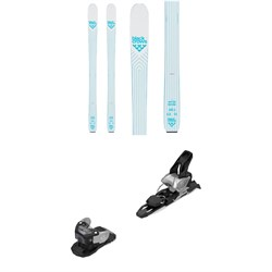 Black Crows Vertis Birdie Skis - Women's ​+ Salomon Warden MNC 11 Ski Bindings 2020