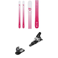 Black Crows Camox Birdie Skis - Women's ​+ Salomon Warden MNC 11 Ski Bindings 2020