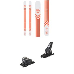 Black Crows Atris Birdie Skis - Women's ​+ Marker Griffon 13 ID Ski Bindings