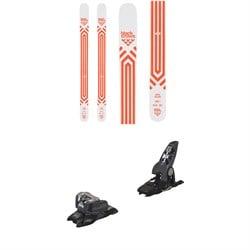 Black Crows Atris Birdie Skis - Women's + Marker Griffon 13 ID Ski Bindings