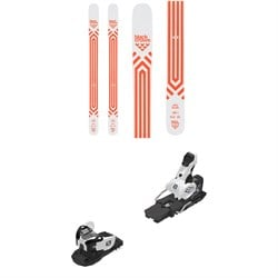 Black Crows Atris Birdie Skis - Women's ​+ Salomon Warden MNC 13 Ski Bindings