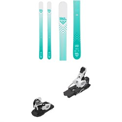 Black Crows Captis Birdie Skis - Women's ​+ Salomon Warden MNC 13 Ski Bindings 2020