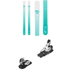 Black Crows Captis Birdie Skis - Women's ​+ Salomon Warden MNC 13 Ski Bindings