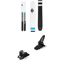 Black Diamond Helio Recon 105 Skis ​+ Marker Griffon 13 ID Ski Bindings 2020