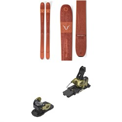 Blizzard Rustler 11 Skis ​+ Salomon Warden MNC 13 Ski Bindings