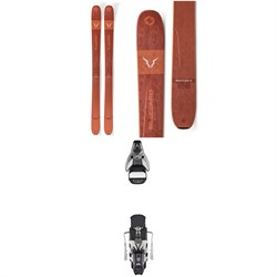 Blizzard Rustler 11 Skis ​+ Atomic STH2 WTR 16 Ski Bindings 2020