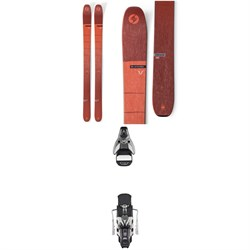Blizzard Cochise Skis + Atomic STH2 WTR 16 Ski Bindings