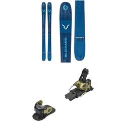 Blizzard Rustler 10 Skis + Salomon Warden MNC 13 Ski Bindings