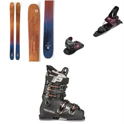 Blizzard Sheeva 11 Skis - Women's ​+ Salomon Warden MNC 11 Ski Bindings ​+ Tecnica Mach1 LV 95 W Ski Boots - Women's 2020