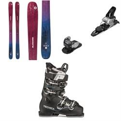 Blizzard Sheeva 10 Skis - Women's + Salomon Warden MNC 11 Ski Bindings + Tecnica Mach Sport LV 85 W Ski Boots - Women's 2020