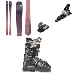 Blizzard Black Pearl 82 Skis - Women's ​+ Salomon Warden MNC 11 Ski Bindings ​+ Tecnica Mach Sport HV 75 W Ski Boots - Women's 2020