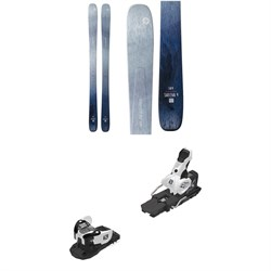Blizzard Sheeva 9 Skis - Women's ​+ Salomon Warden MNC 13 Ski Bindings 2020