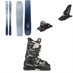 Blizzard Sheeva 9 Skis - Women's + Marker Squire 11 ID Ski Bindings + Tecnica Mach Sport LV 85 W Ski Boots - Women's 2020