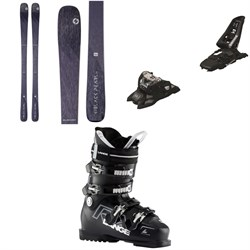 Blizzard Black Pearl 78 Skis - Women's ​+ Marker Squire 11 ID Ski Bindings ​+ Lange RX 80 W Ski Boots - Women's 2020
