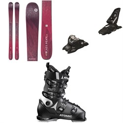Blizzard Black Pearl 98 Skis - Women's ​+ Marker Squire 11 ID Ski Bindings ​+ Atomic Hawx Prime 85 W Ski Boots - Women's 2020