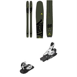 Dynastar Legend W 96 Skis - Women's ​+ Salomon Warden MNC 13 Ski Bindings 2020