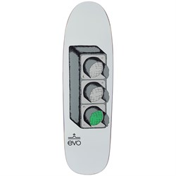 evo Stoplight Shaped 9.0 Skateboard Deck