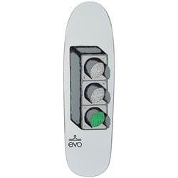 evo Stoplight Shaped 9.0 Skateboard Deck