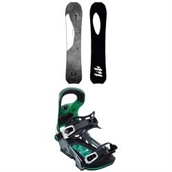 Lib Tech T.Rice Orca Snowboard + Bent Metal Logic Snowboard Bindings 2020
