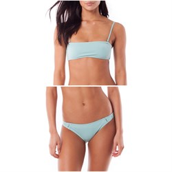 Rhythm Islander Bandeau Bikini Top + My Cheeky Bikini Bottoms - Women's