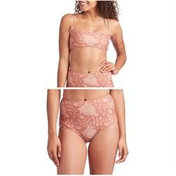 Mollusk Sisterhood Bikini Top + Holly Bikini Bottoms - Women's