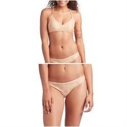 Mollusk Atoll Bikini Top + Atoll Bikini Bottoms - Women's