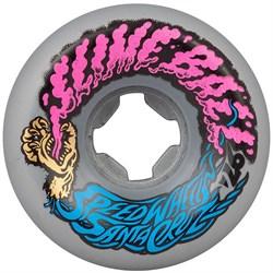 Santa Cruz Slime Balls 97a Vomit Mini Metallic Silver Skateboard Wheels