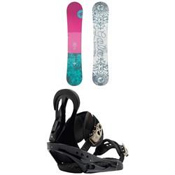 Rossignol Gala Snowboard - Women's + Burton Citizen Snowboard Bindings - Women's 2019
