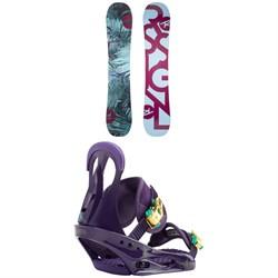 Rossignol Meraki Snowboard - Women's + Burton Citizen Snowboard Bindings - Women's 2019