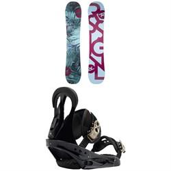 Rossignol Meraki Snowboard - Women's + Burton Citizen Snowboard Bindings - Women's